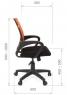 Кресло CHAIRMAN 696 black